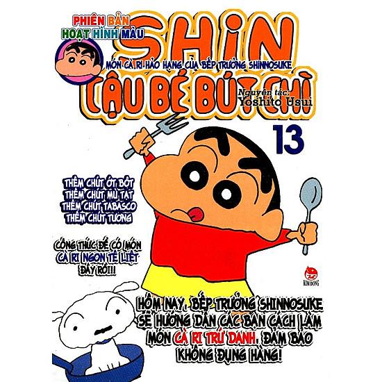 Shin - Cậu Bé Bút Chì (Hoạt Hình Màu) - Tập 13