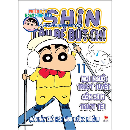Shin - Cậu Bé Bút Chì (Hoạt Hình Màu) - Tập 11