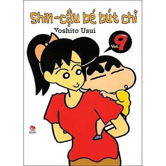 Shin - Cậu Bé Bút Chì (Tập 9 - Tái Bản)