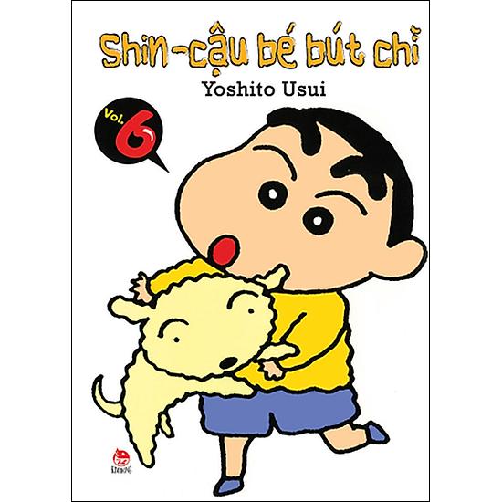 Shin - Cậu Bé Bút Chì (Tập 6 - Tái Bản)
