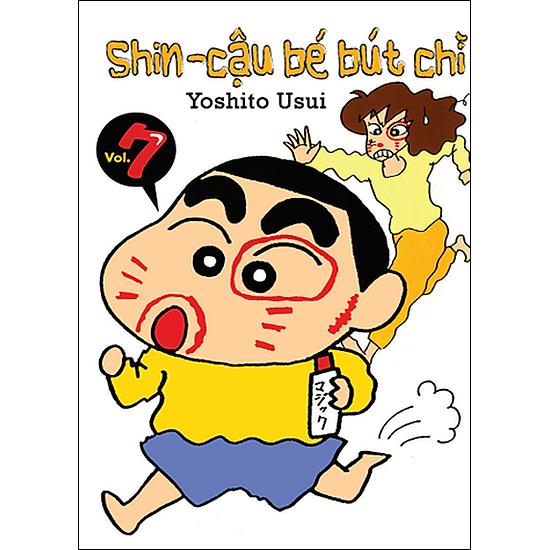 Shin - Cậu Bé Bút Chì (Tập 7 - Tái Bản)