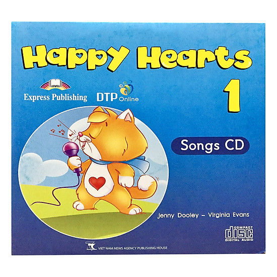 Happy Hearts US 1 Songs CD