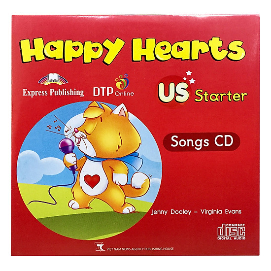Happy Hearts US 0 Songs CD