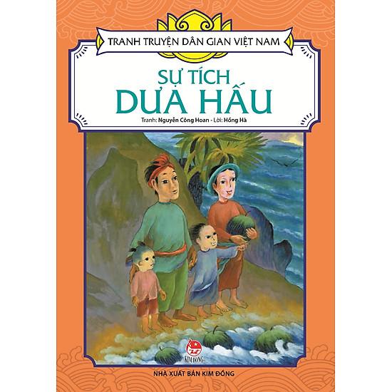 Tranh Truyện Dân Gian Việt Nam - Sự Tích Dưa Hấu