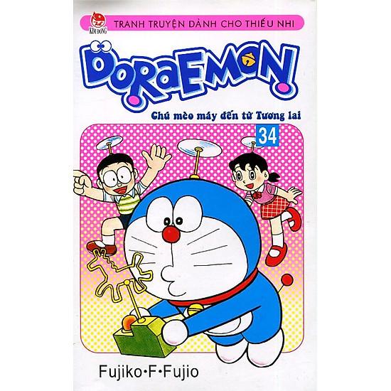 Doraemon - Chú Mèo Máy Đến Từ Tương Lai (Tập 34)