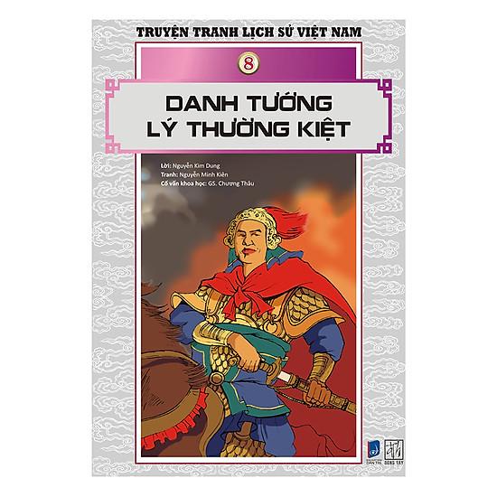 Download sách Truyện Tranh Lịch Sử Việt Nam - Danh Tướng Lý Thường Kiệt (Sách Màu)