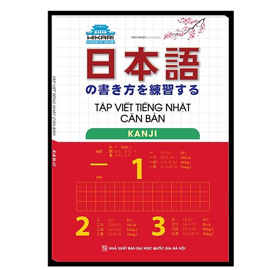 Tập Viết Tiếng Nhật Căn Bản Kanji