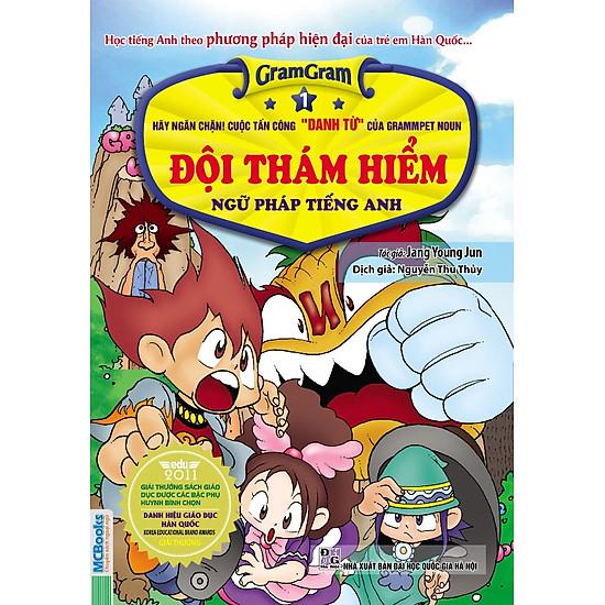 Gram Gram – Đội Thám Hiểm Ngữ Pháp Tiếng Anh (Tập 1) – Hãy Ngăn Chặn Cuộc Tấn Công 'DANH TỪ' Của Grammpet Noun