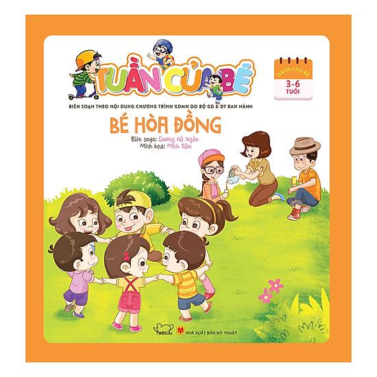 Tuần Của Bé Tháng 7 - Bé Hòa Đồng