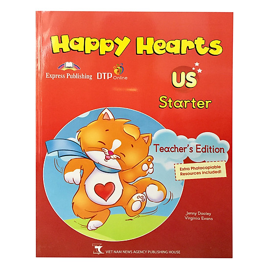 [Download Sách] Happy Hearts US 0 Teacher's Book
