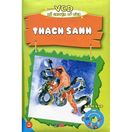 VCD Kể Chuyện Cổ Tích - Thạch Sanh (Sách Màu Kèm VCD)