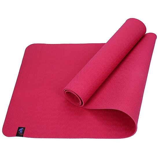 Thảm Yoga ProCare Cao Cấp Siêu Bám Non Toxic ĐL - Đỏ
