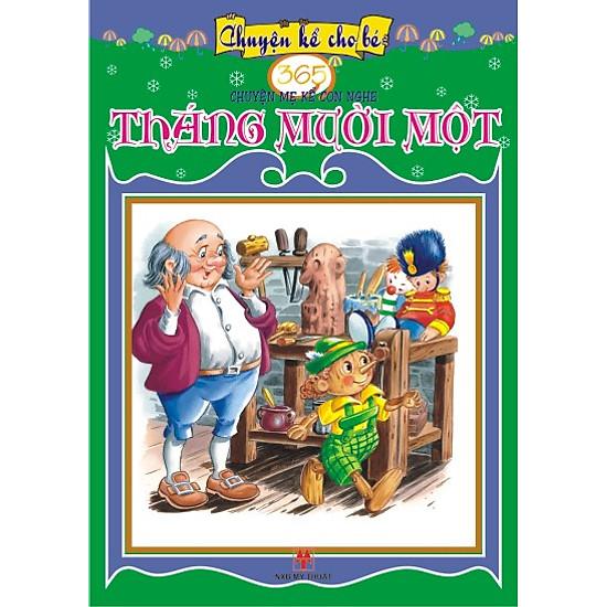 [Download sách] 365 Truyện Mẹ Kể Con Nghe: Tháng Mười Một