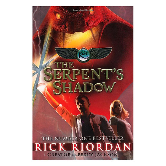 [Download sách] The Kane Chronicles Book 3 - The Serpent's Shadow