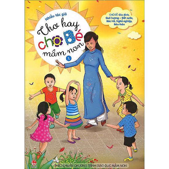 Thơ Hay Cho Bé Mầm Non (Tập 1)