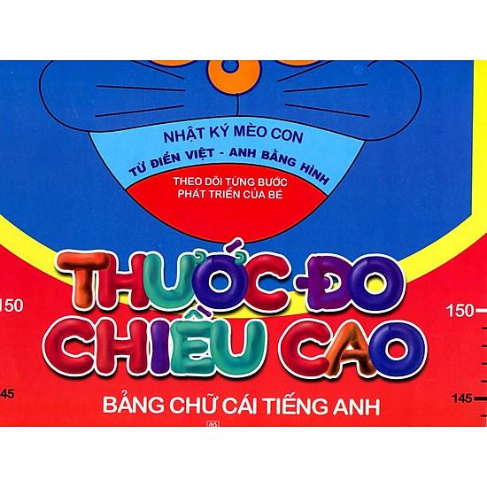 Thước Đo Chiều Cao - Bảng Chữ Cái Tiếng Anh (Trí Việt)