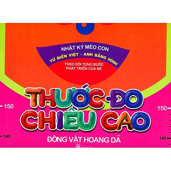 Thước Đo Chiều Cao - Động Vật Hoang Dã (Trí Việt)