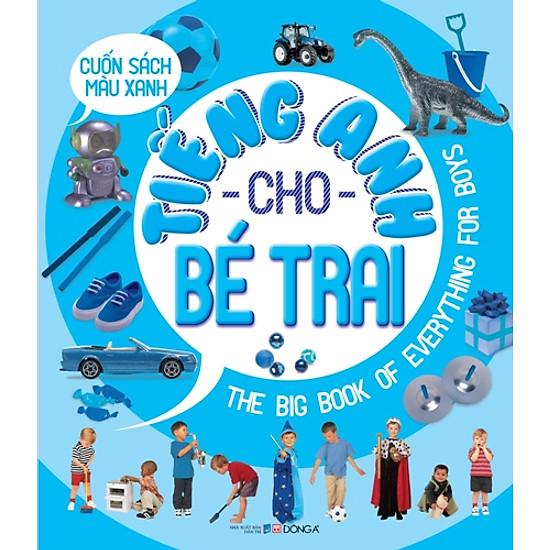 [Download Sách] Tiếng Anh Cho Bé Trai