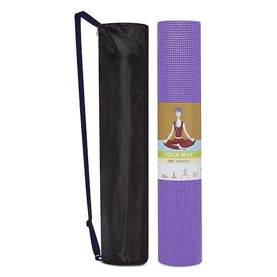 Thảm Yoga 6mm ProMat - Tím (Kèm Túi Đựng)