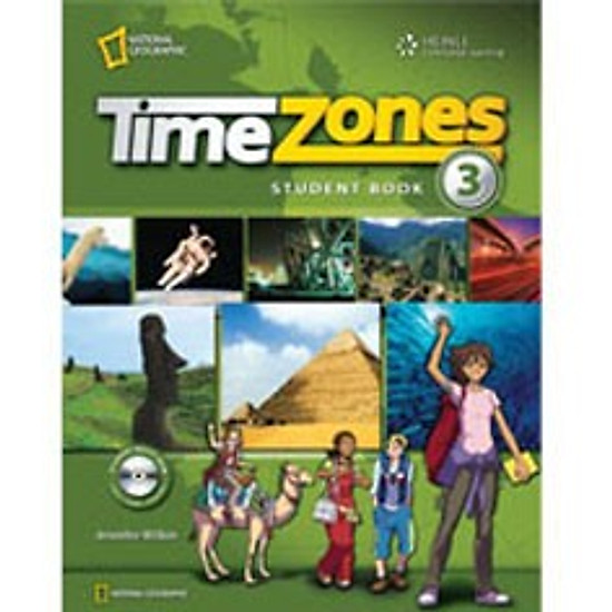 Time Zones 3: Student Book With MultiROM