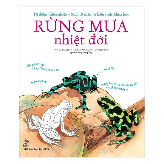 [Download Sách] Tô Điểm Thiên Nhiên - Sách Tô Màu Và Kiến Thức Khoa Học - Rừng Mưa Nhiệt Đới
