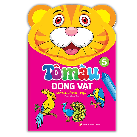 Tô Màu Động Vật – Song Ngữ Anh – Việt (Tập 5)