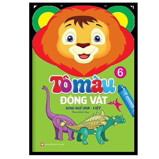Tô Màu Động Vật – Song Ngữ Anh – Việt (Tập 6)