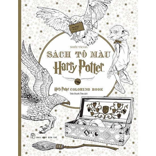 Sách Tô Màu Harry Potter