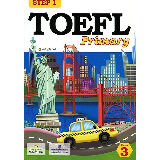 [Download Sách] TOEFL Primary Book 3 Step 1 (Kèm CD)