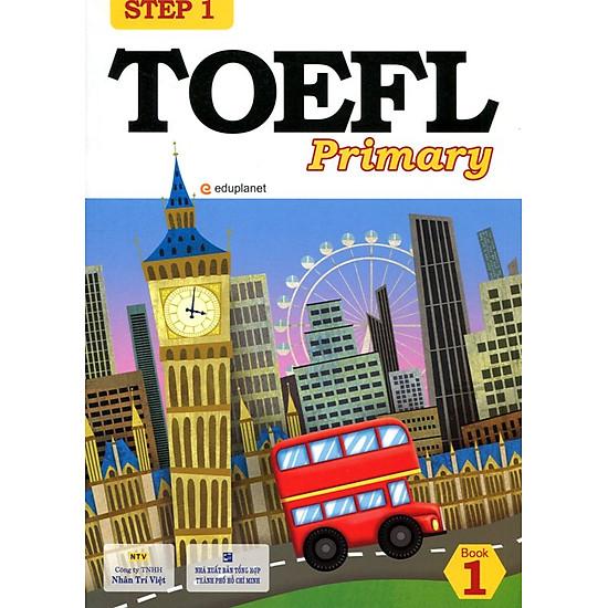 [Download Sách] TOEFL Primary Book 1 Step 1 (Kèm CD)