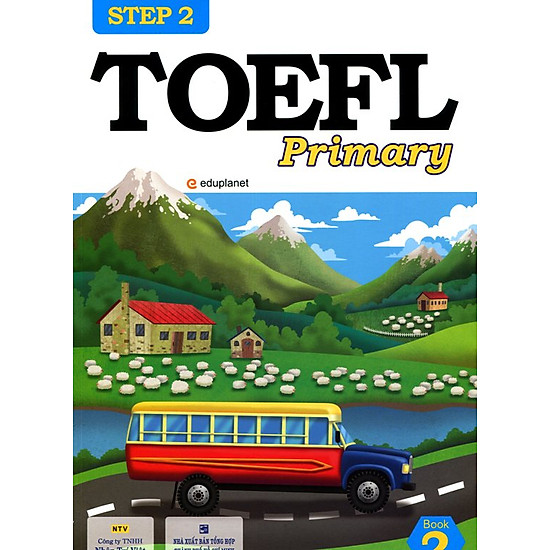 [Download Sách] TOEFL Primary Book 2 Step 2 (Kèm CD)