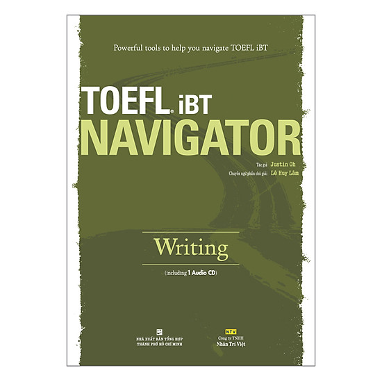 TOEFL iBT Navigator: Writing (Kèm 1 Đĩa CD)