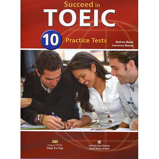 Download sách Succeed in TOEIC 10 Practice Tests (Gồm 1 Đĩa MP3)