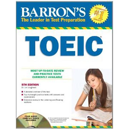 Barron's Toeic Test 5th (Kèm 4CD)