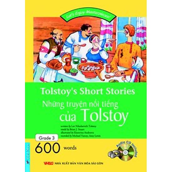 Happy Reader-Tolstoy's Short Stories - Kèm 1CD