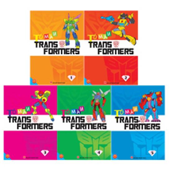 Bộ Túi Tô Màu Transformers
