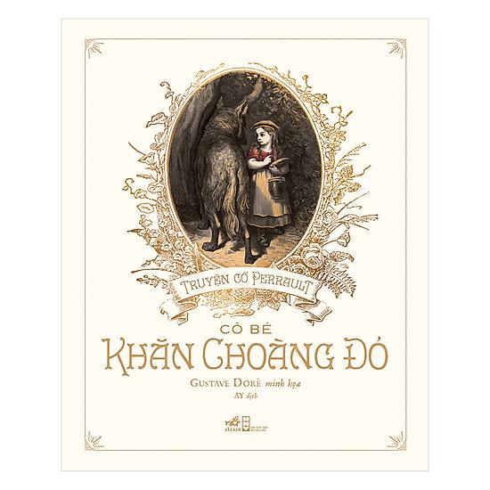 [Download Sách] Truyện Cổ Perrault - Cô Bé Khăn Choàng Đỏ