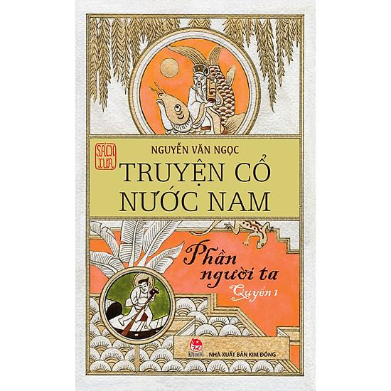 Hình ảnh download sách Truyện Cổ Nước Nam (Tập 1)