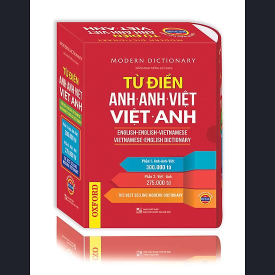 Từ điển Anh-Anh-Việt Việt-Anh (Bản Màu)