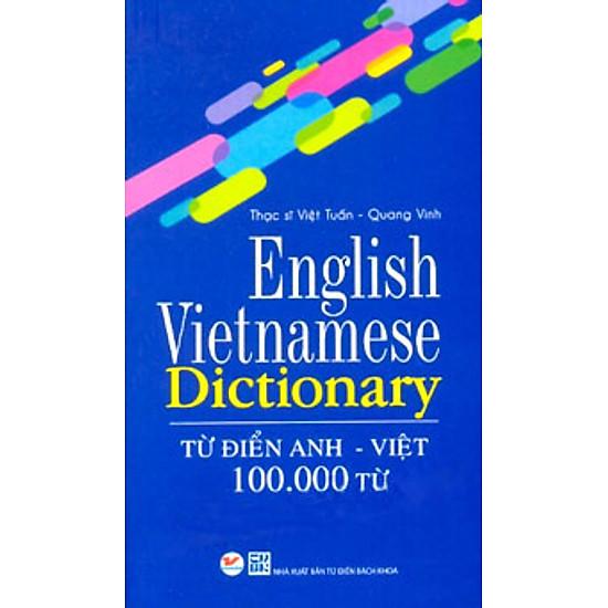 [Download sách] Từ Điển Anh Việt 100.000 Từ