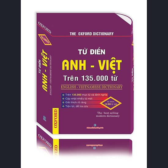 Từ Điển Anh – Việt Trên 135000 Từ