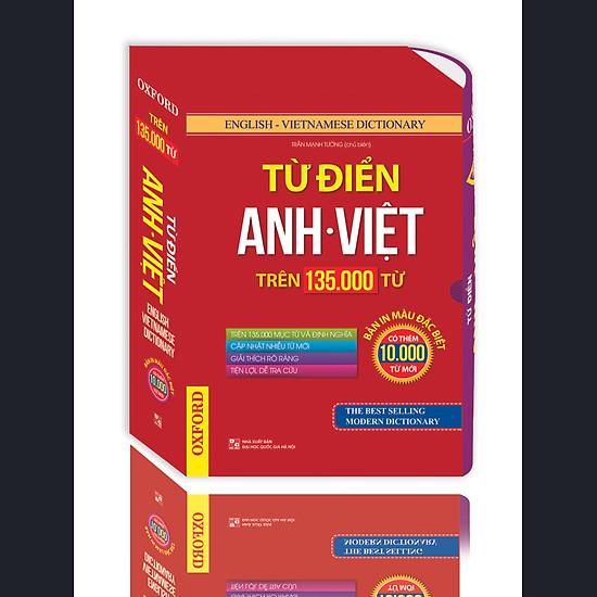 Từ Điển Anh Việt Trên 135.000 Từ (Hộp Bao)