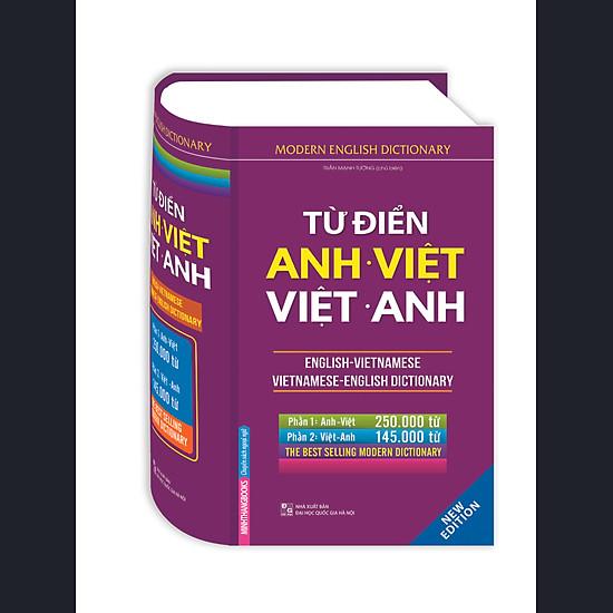 Từ Điển Anh Việt - Việt Anh (Bìa Cứng)