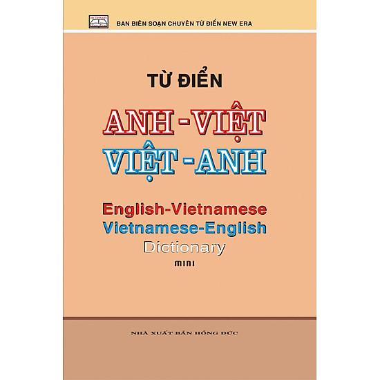 Từ Điển Anh – Việt – Việt – Anh (Mini) – Tái Bản