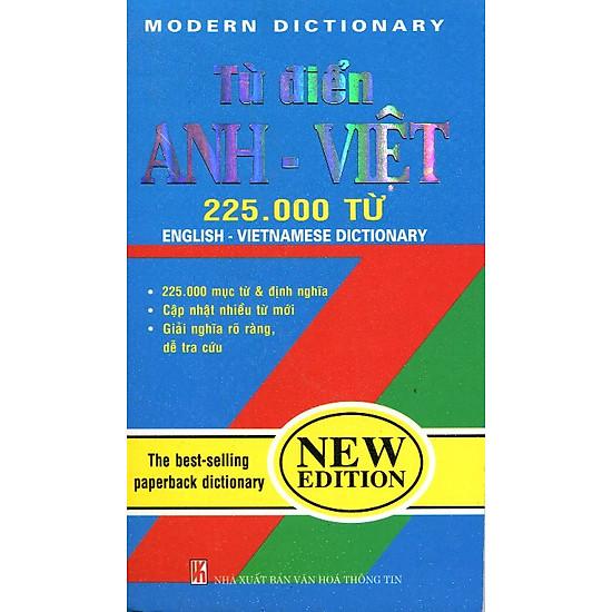 Từ Điển Anh - Việt (225.000 Từ)