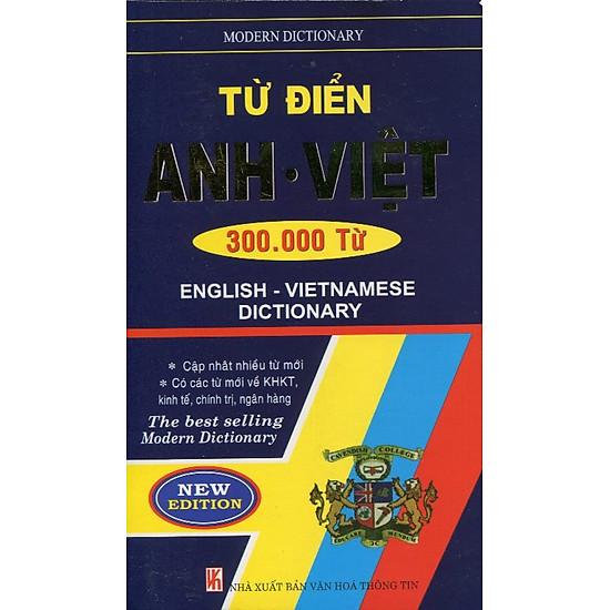 Từ Điển Anh - Việt (300.000 Từ)