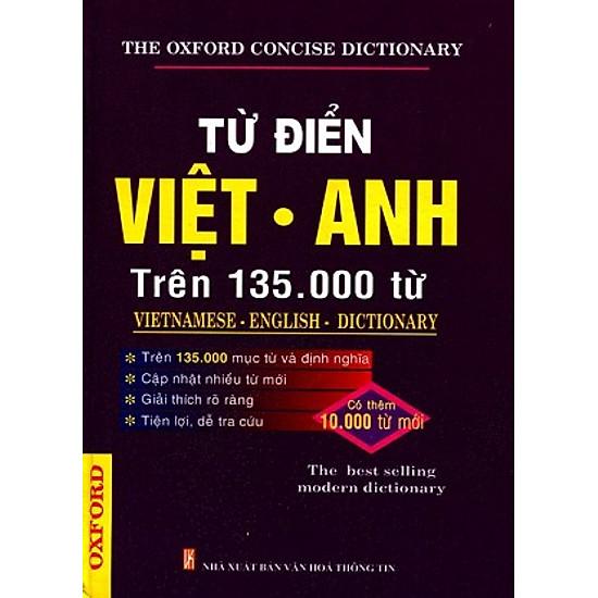 Từ Điển Việt – Anh (Trên 135000 Từ)
