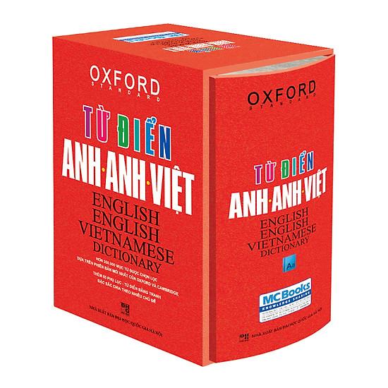 [Download sách] Từ Điển Anh - Anh - Việt (Bìa Cứng Cam)