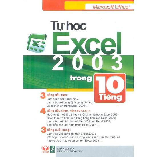 [Download Sách] Tự Học Excel 2003 Trong 10 Tiếng