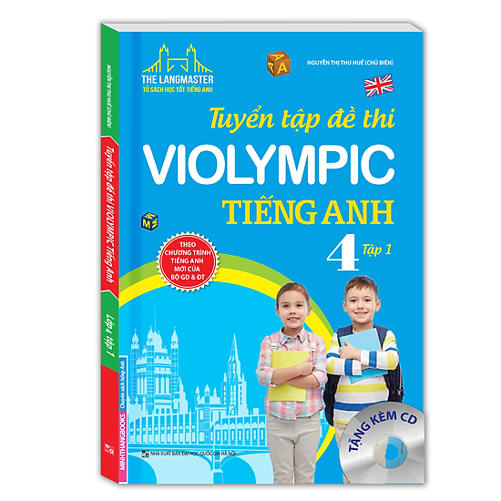 Tuyển Tập Đề Thi Violympic Tiếng Anh Lớp 4 – Tập 1